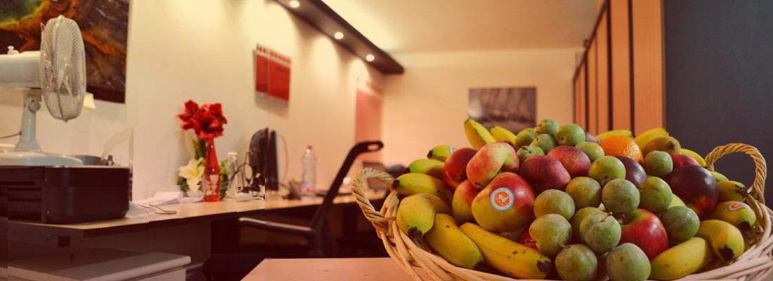 livraison de paniers de fruits en entreprise