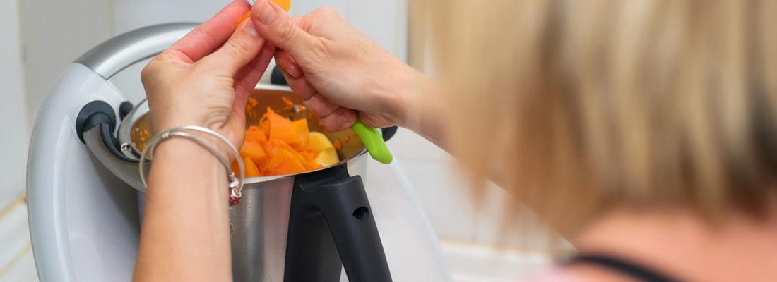 Cuisiner plus facilement avec le robot thermomix